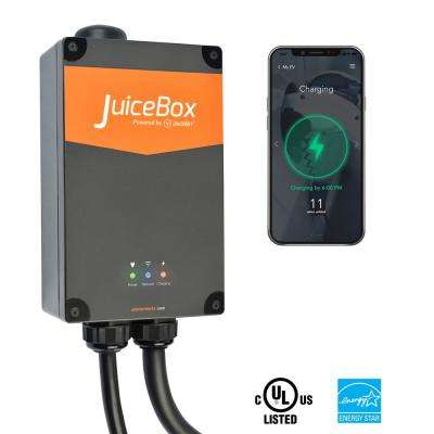 Pro40 Wi-Fi Enabled 40 Amp Electric Vehicle Charging Station with 24 ft   Cable Indoor/Outdoor Plug-In Installation