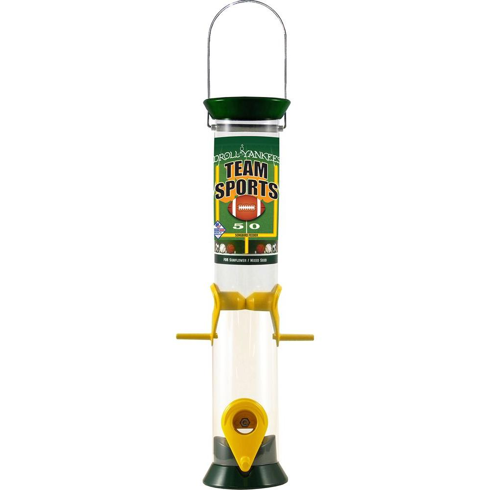 15 in. Team Sports Sunflower/Mixed Seed Bird Feeder