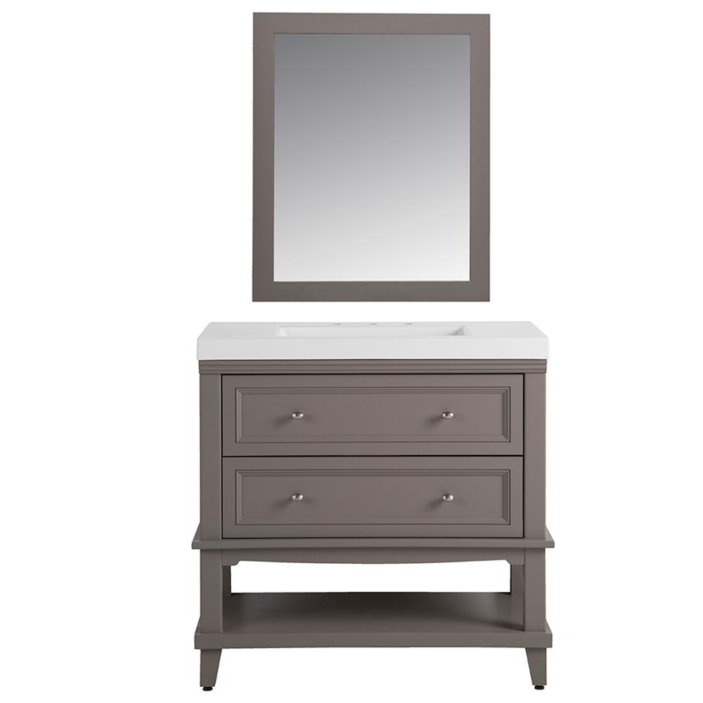 Home Decorators Collection Teasian In 36 In W Vanity In
