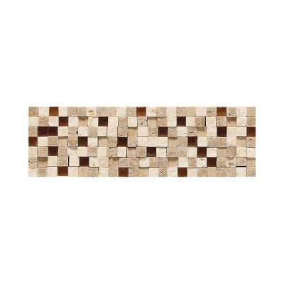 Fidenza Universal 2 in. x 9 in. Glazed Porcelain Accent Floor and Wall Tile