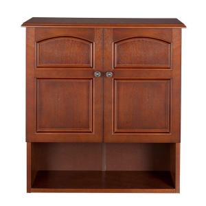 Foremost Naples 26 3 4 In W Bathroom Storage Wall Cabinet In Warm