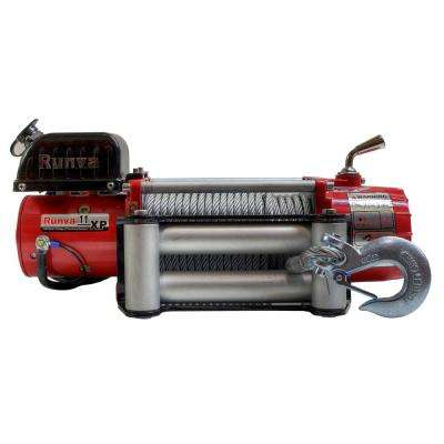 11,000 lbs. Capacity 12-Volt Wireless Off-Road Electric Winch with 85 ft. Steel Cable