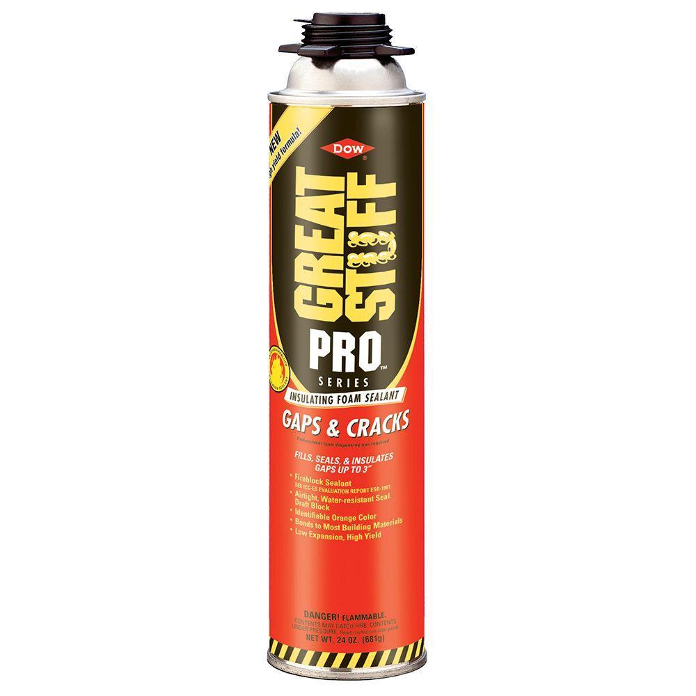 GREAT STUFF PRO 24 oz. Gaps and Cracks Insulating Foam Sealant