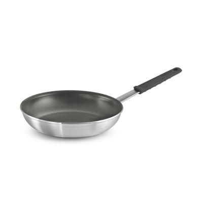 Professional Fusion 10 in. Aluminum Frying Pan in Satin Silver