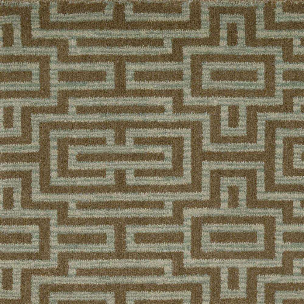 Grid - Color Brownstone 13 ft. Carpet