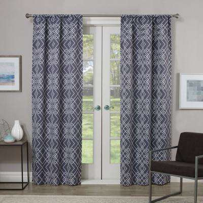 Blackout Paloma Rod Pocket Curtain