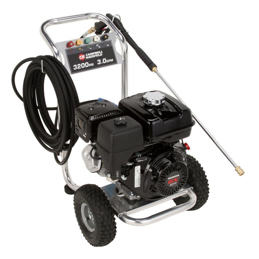 Campbell Hausfeld 3,200 psi 3 GPM CAT Pump Gas Pressure Washer