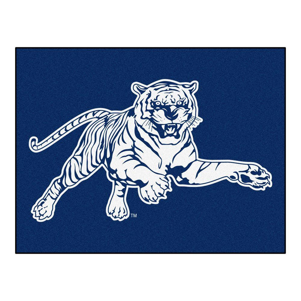 Ncaa Jackson State University Blue 2 ft. 10 in. x 3 ft. 9 in. Accent Rug