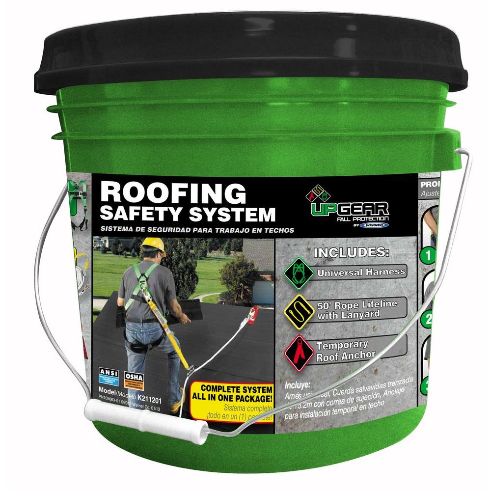 Werner Roofing Safety System-K211201 - The Home Depot