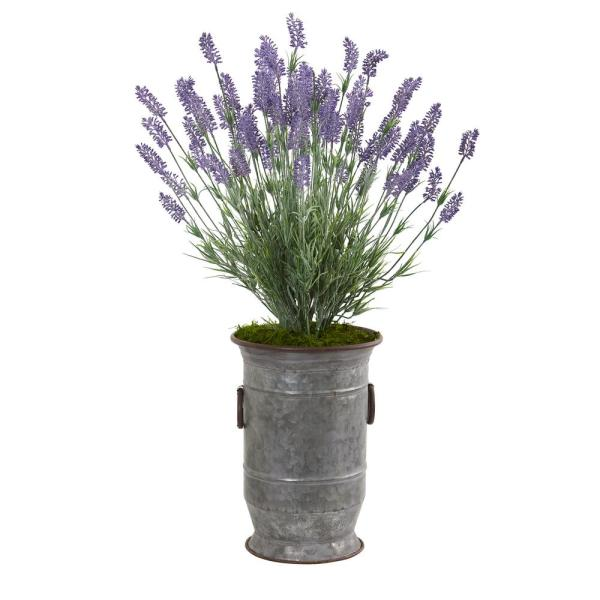 Nearly Natural 33 In Lavender Artificial Plant In Decorative