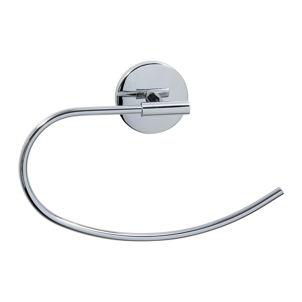 Monterey Series Towel Ring in Brushed Nickel