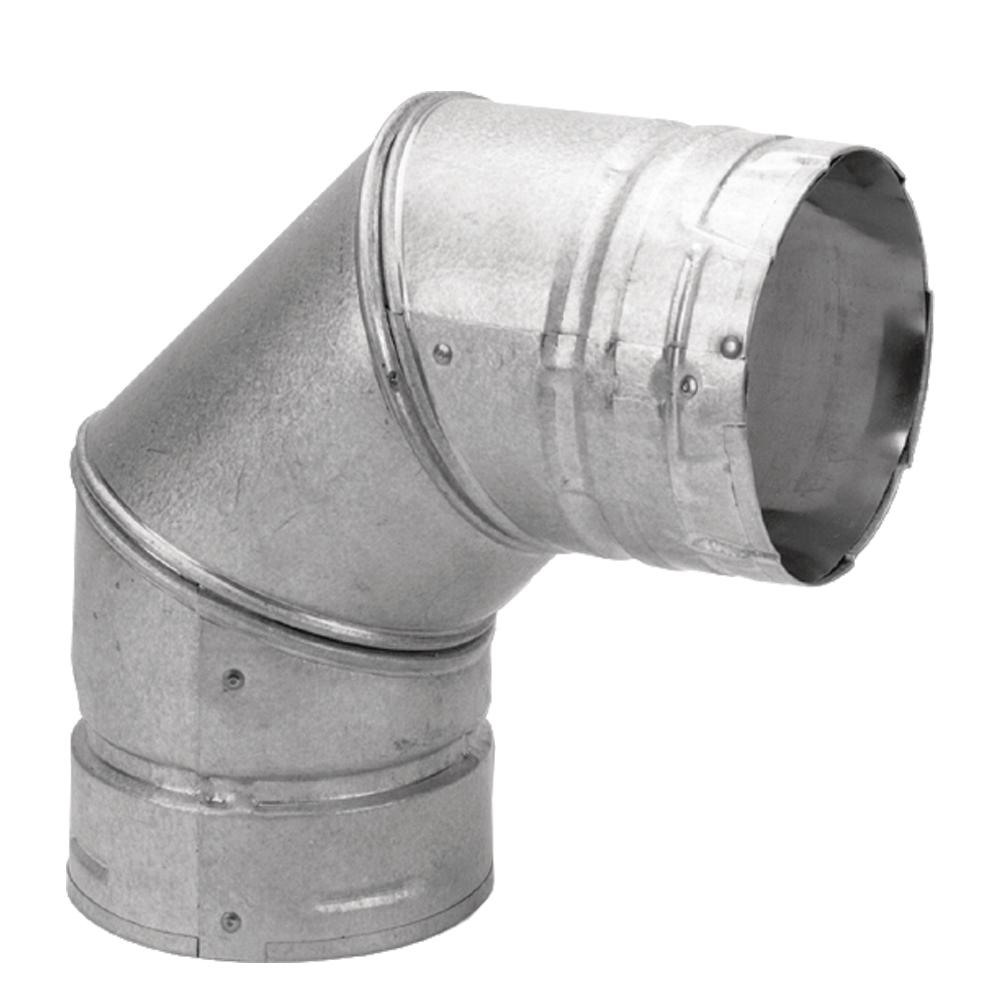 Duravent Pelletvent 3 In 90 176 Elbow 3pvl E90 The Home Depot