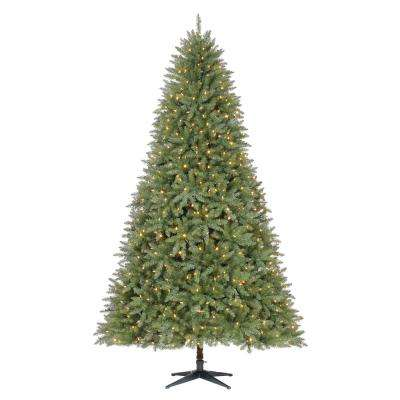 9 ft. Pre-Lit LED Matthew Fir Artificial Christmas Tree with 700 Color Changing Lights