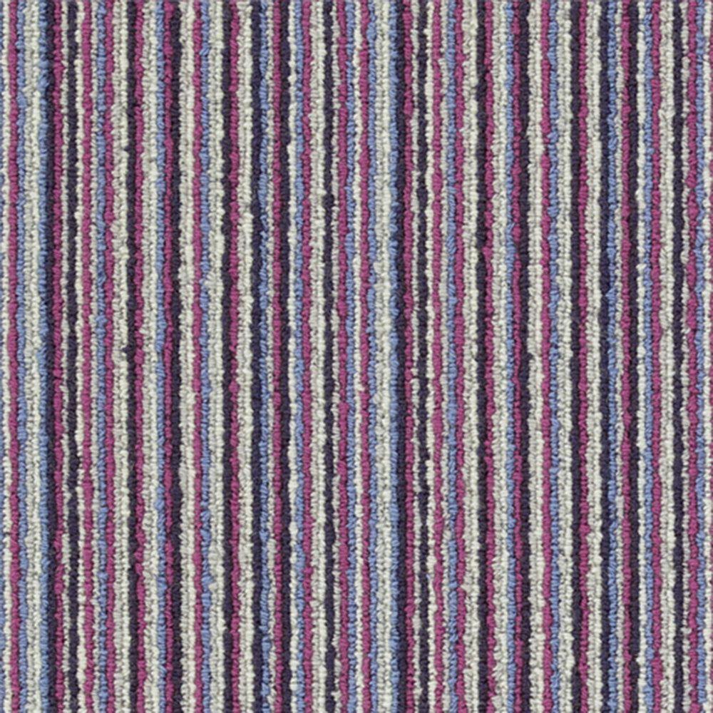 Straight N Narrow Bright - Color City Line Loop 12 ft. Carpet