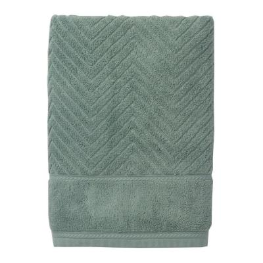 Chevron Egyptian Cotton Bath Sheet