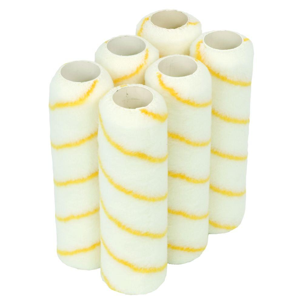 PREMIUM 9 in. x 1/2 in. Roller Covers (6-Pack)