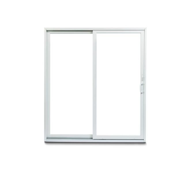 Andersen 70 1 2 In X 79 1 2 In 200 Series White Left Hand Perma Shield Gliding Patio Door With White Hardware 9174178 The Home Depot