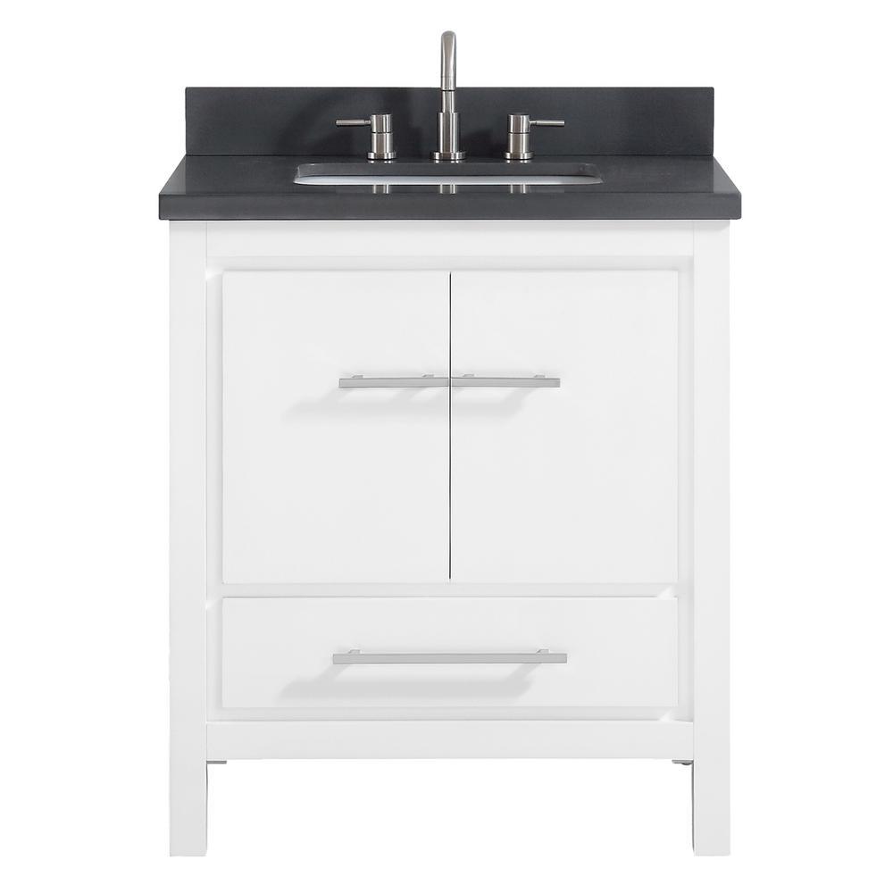 Kitchen Cabinets Home Depot Vs Lowes: Avanity Riley 31 In. W X 22 In. D X 34.8 In. H Bath Vanity