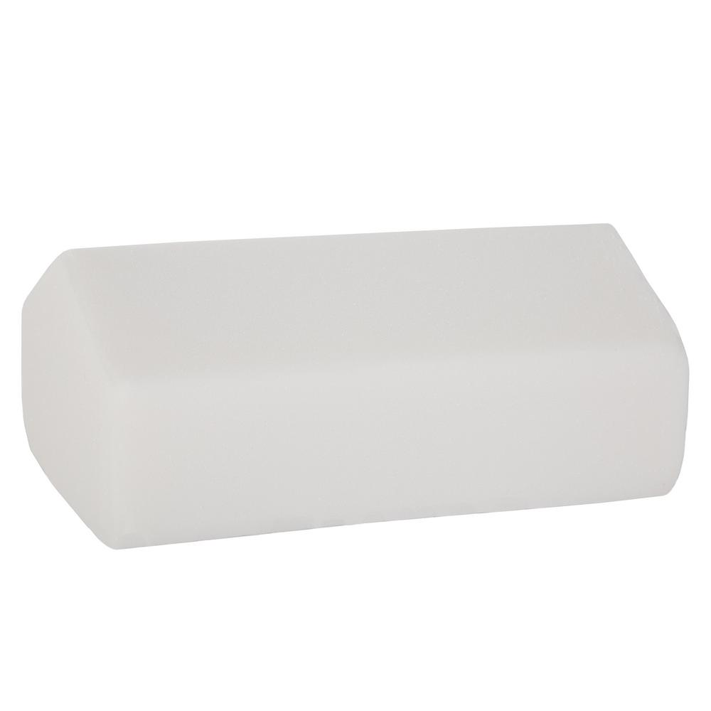 Bluestone Elevating Knee Wedge Pillow with White Terry Cl...