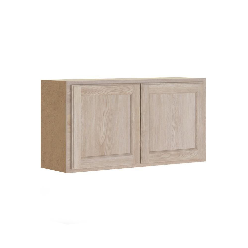 This Review Is From Stratford Embled 36x18x12 In Wall Bridge Cabinet Unfinished Oak