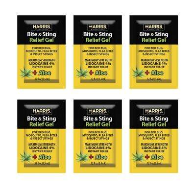 0.12 oz. Insect Bite and Sting Relief Gel (6 Pack)