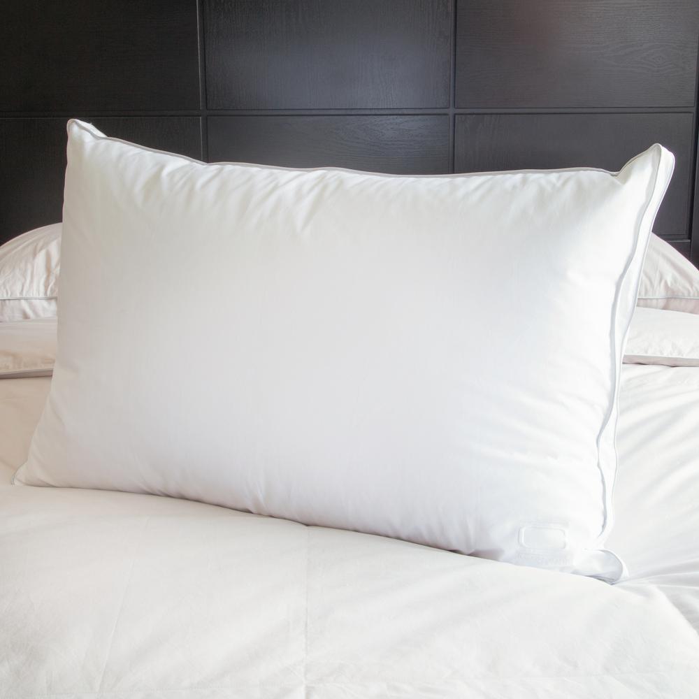 King White Goose Down Pillow