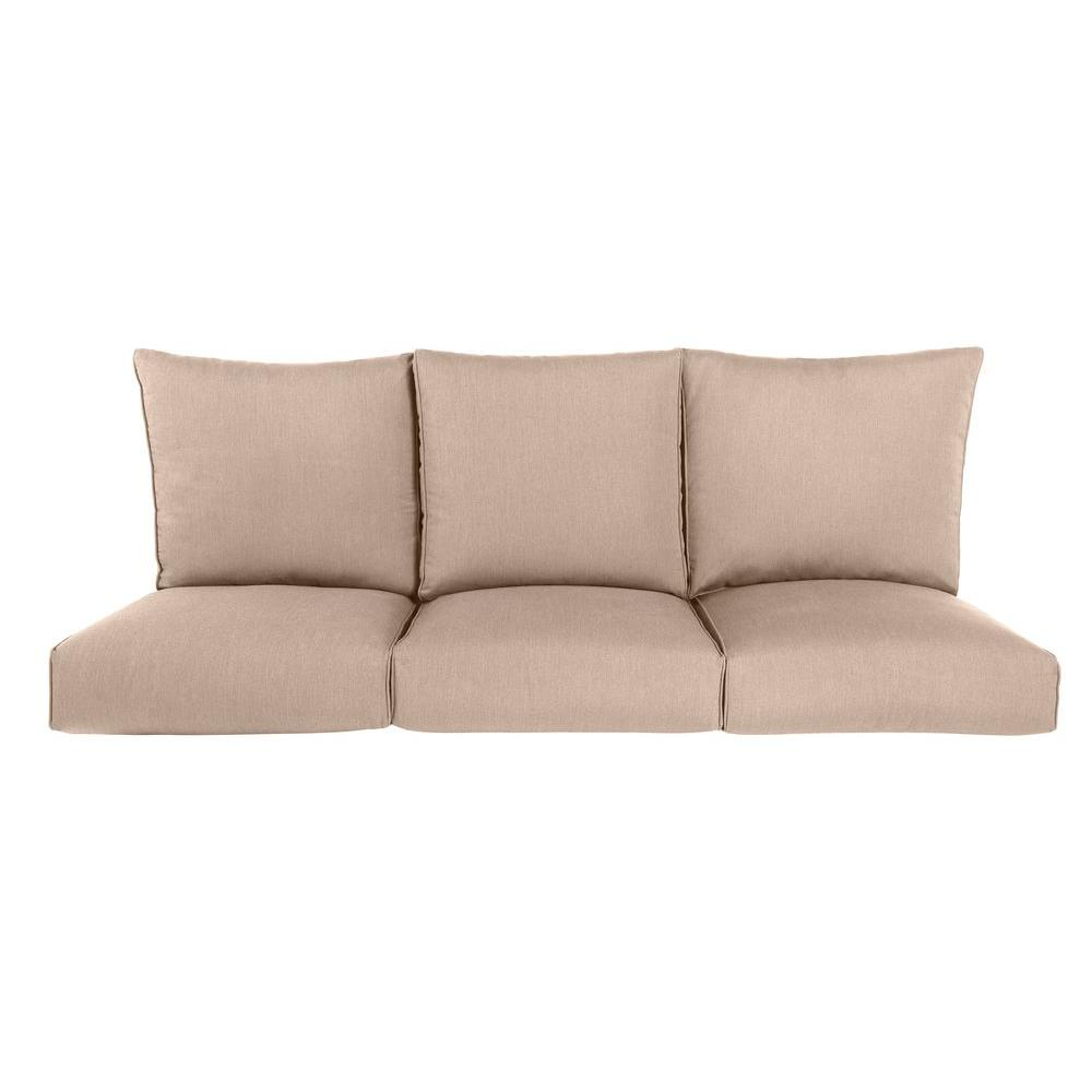 Outdoor Loveseat Cushions Sofa Loveseat Cushions The Home Depot