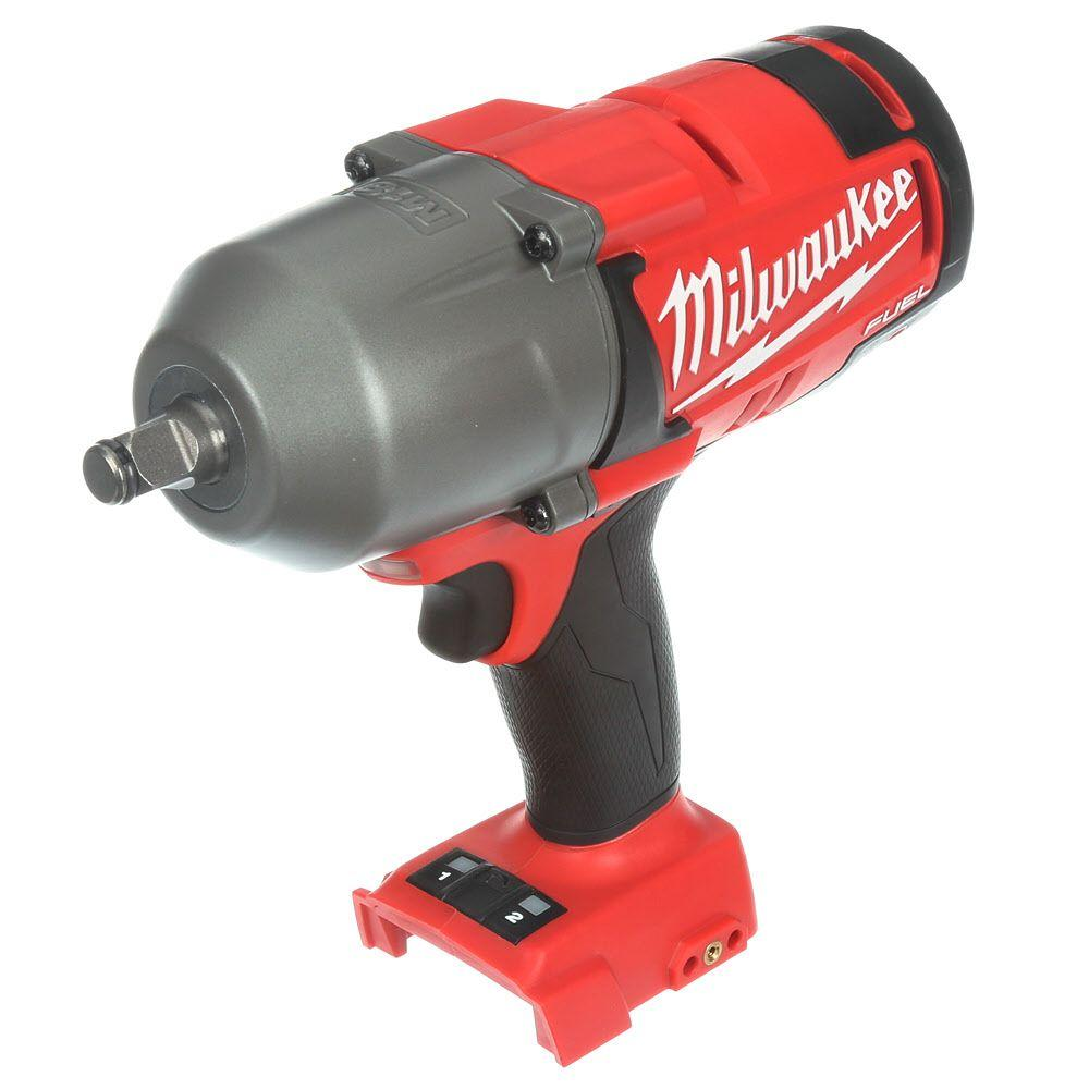 Milwaukee M18 FUEL 18-Volt Lithium-Ion Brushless 1/2 in. Cordless High Torque Impact Wrench with Friction Ring (Bare Tool)