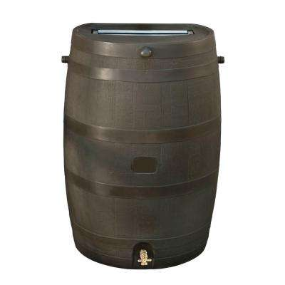 50 Gal. Rain Barrel with Brass Spigot