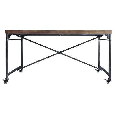 Enzo Industrial Grey Dining Table