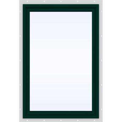 23.5 in. x 29.5 in. V-4500 Series Fixed Picture Vinyl Window in Green