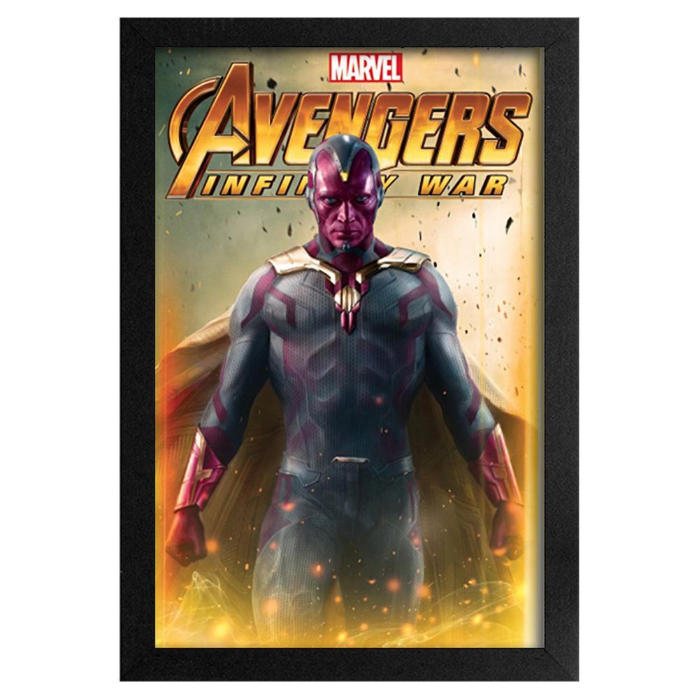 Avengers -Infinity War- Vision 11x17 Framed Print