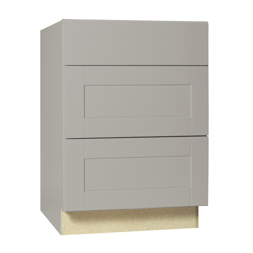 Hampton Bay Shaker Assembled 24x34.5x24 In. Drawer Base