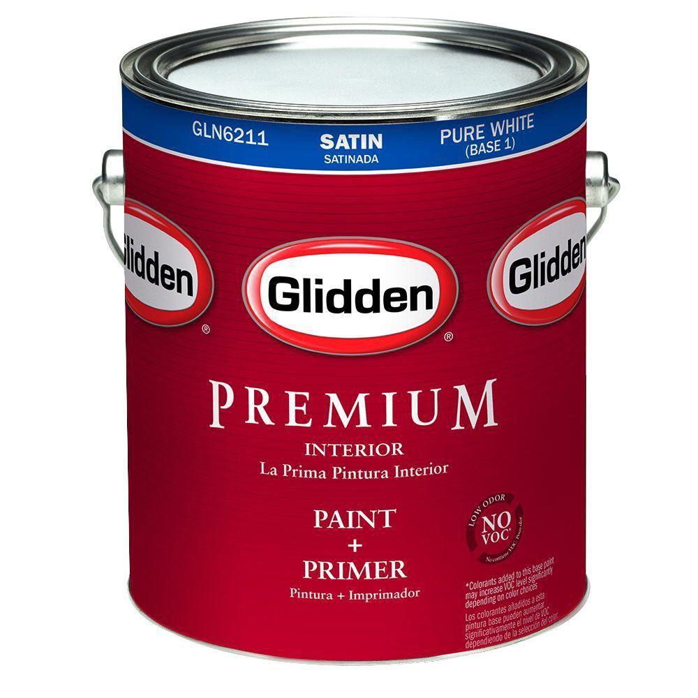 Glidden Premium 1 gal. Satin Interior Paint