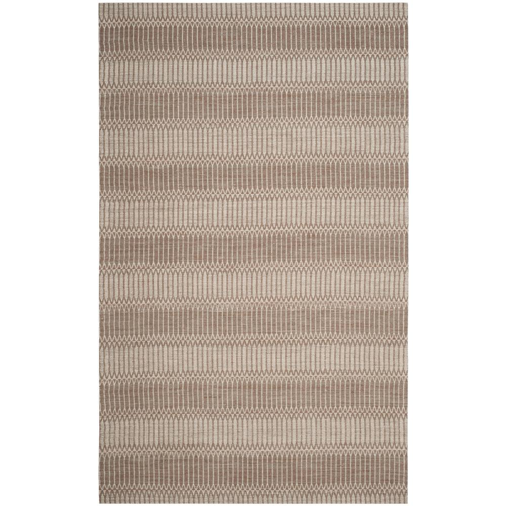 Marbella Brown 5 ft. x 8 ft. Area Rug
