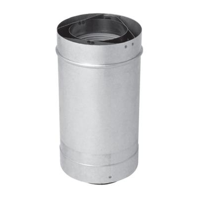 12 in. Vent Length 3 x 5 in. Stainless Steel Concentric Vent for Rheem Indoor Tankless Gas Water Heaters