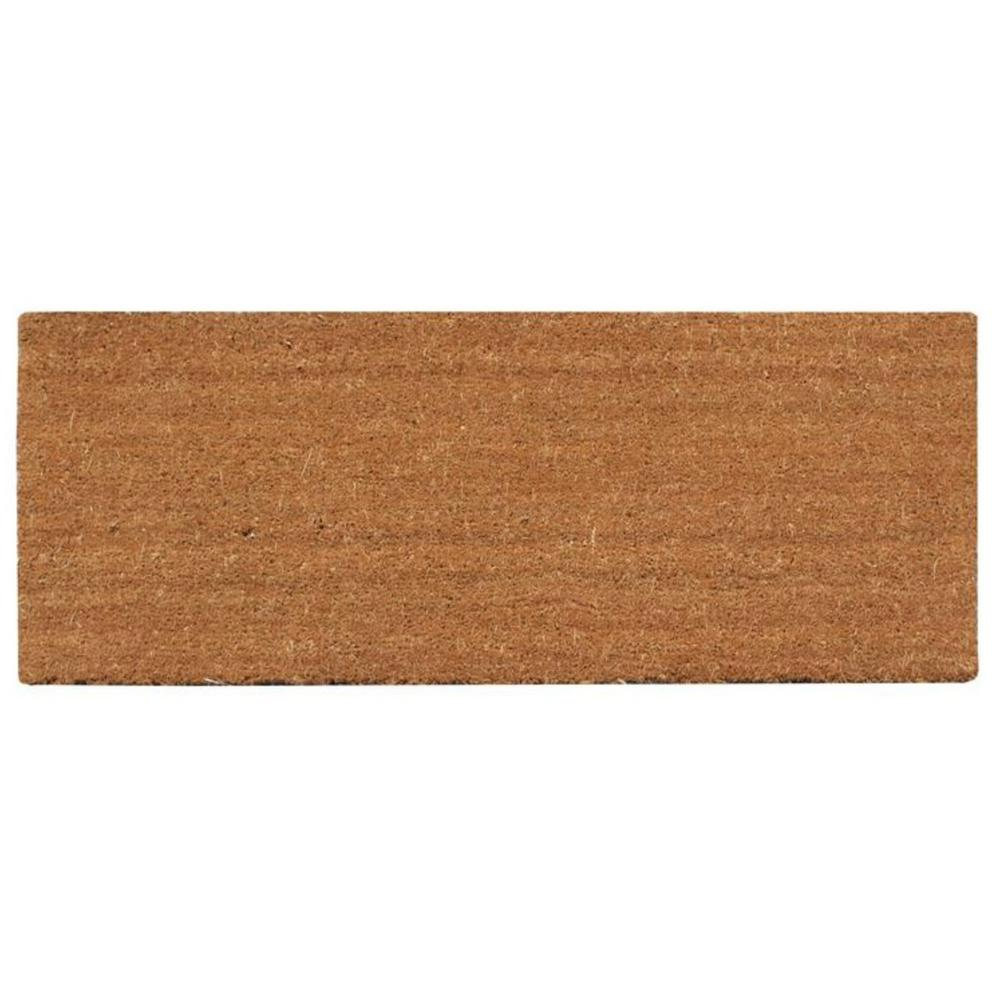 A1HC First Impression PVC Tufted Plain 30 In. X 48 In. Coir Door Mat