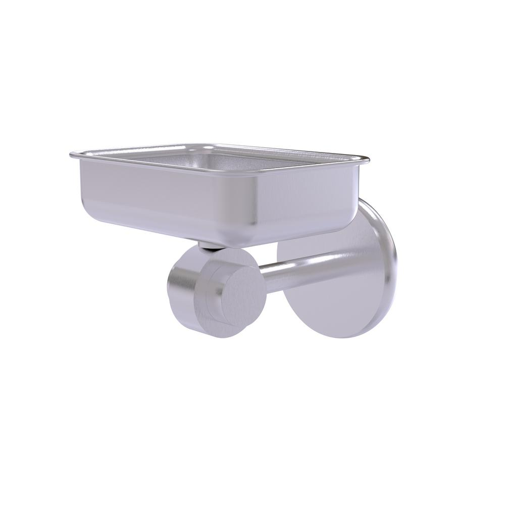 Satellite Orbit 2-Collection Wall Mounted Soap Dish in Satin Chrome