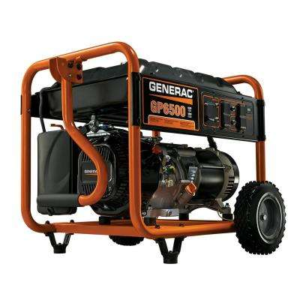 6,500-Watt Gasoline Powered Portable Generator