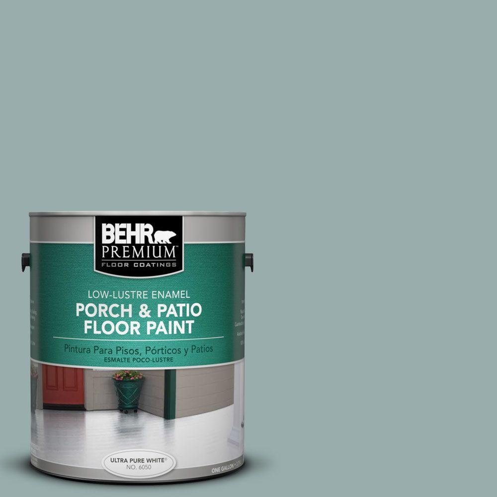 1 gal. #PFC-46 Barrier Reef Low-Lustre Interior/Exterior Porch and Patio Floor