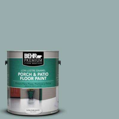 1-Gal. #PFC-46 Barrier Reef Low-Lustre Porch and Patio Floor Paint