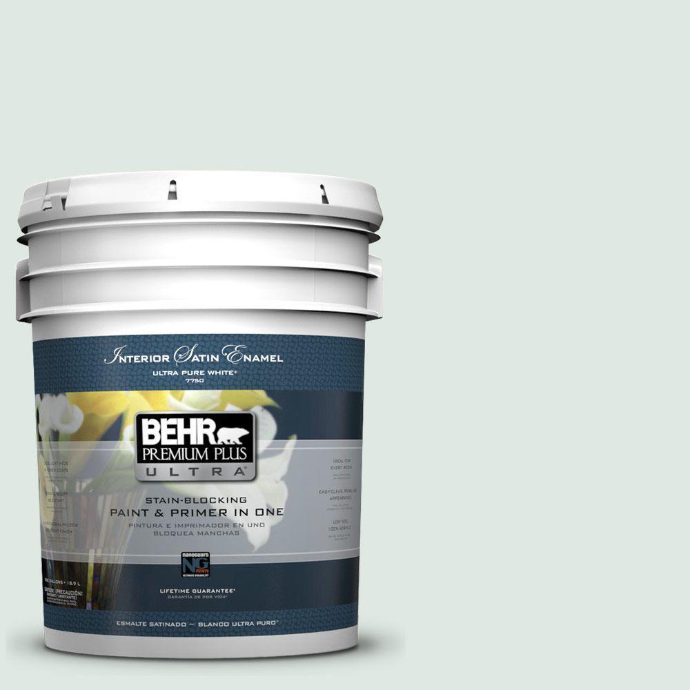 5-gal. #470E-2 Water Mark Satin Enamel Interior Paint