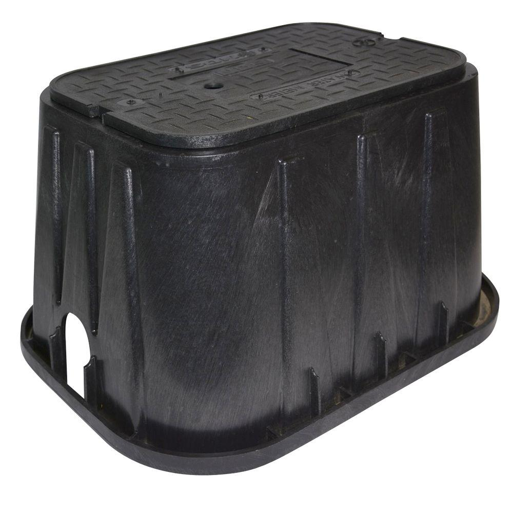 NDS 14 in. x 19 in. x 12 in. Meter Box and Plastic Meter Reader Cover