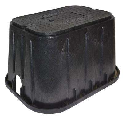 14 in. x 19 in. x 12 in. Meter Box and Plastic Meter Reader Cover