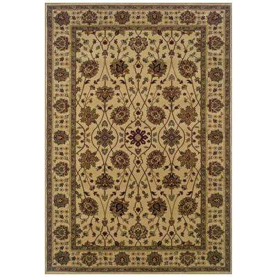 Kiawah Channing Beige 5 ft. x 7 ft. 6 in. Area Rug
