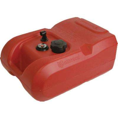 6 Gal. Fuel Tank EPA Compliant with Gauge (2-Pack)
