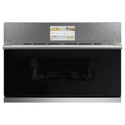1.7 cu. ft. Built-In Convection Microwave in Platinum Glass