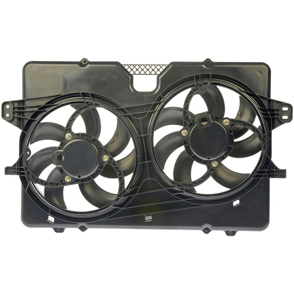 Oe Solutions Dual Fan Embly Without Controller 2008 2009 Ford Escape