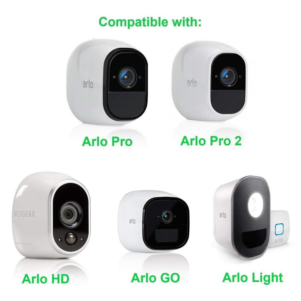 Arlo Pro 2 Security Wall Mount Metal Adjustable Indoor Outdoor Mount 2 Pcs New