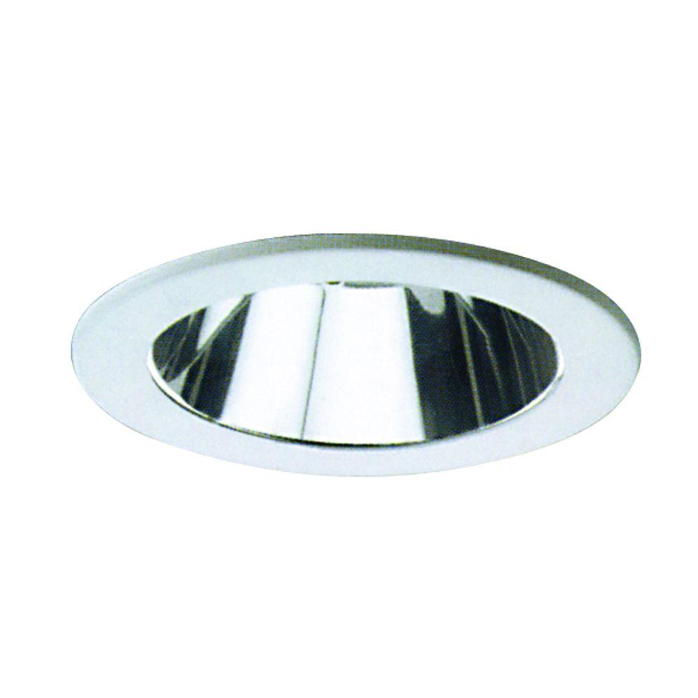 Yosemite Home Decor Recessed Lighting 4.87-in. Reflector Trim for Recessed Lights, Clear-DISCONTINUED